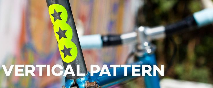 Fahrrad Sticker / reflektierend & neon / viele Farbe / pimp your bike! www.myblinki-fahrrad-aufkleber.de
