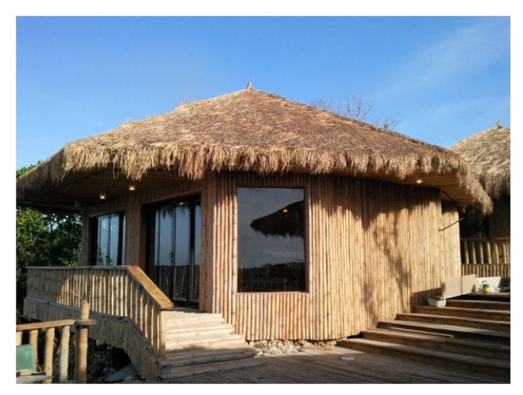 Modern bahay kubo or filipino native style house bahay for Modern native house design