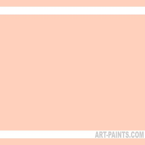 Light Peach Deluxe Kit Fabric Textile Paints - K001 - Light Peach Paint, Light Peach Color, Gingers Cameo Deluxe Kit Paint, FFD1BD - Art-Paints.com: for the bedroom