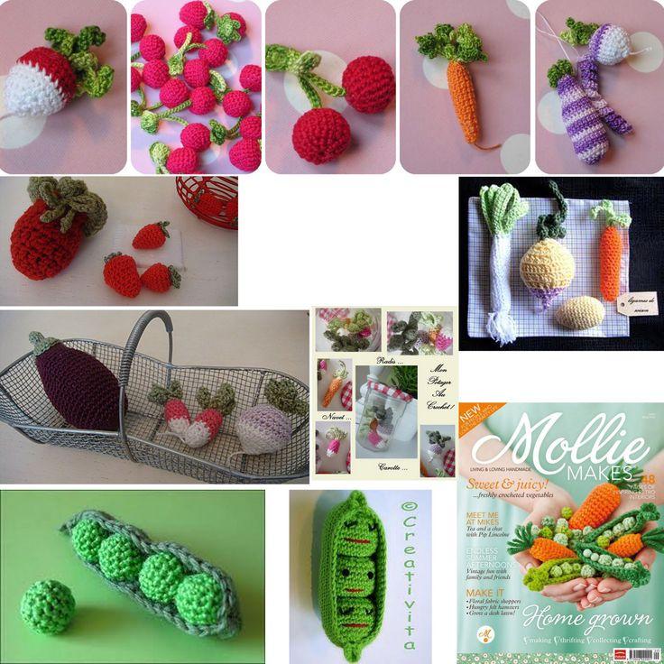 Tuto Amigurumi Fruit : 17 meilleures idees ? propos de Fruits En Crochet sur ...