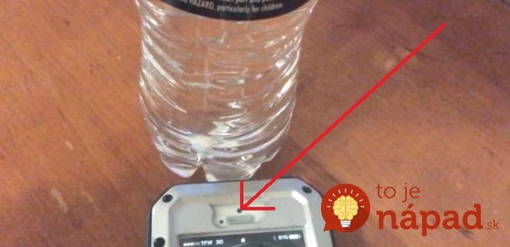 Predstavíme vám nezvyčajný trik s mobilným telefónom, ktorý v posledných dňoch zaplavil internet. Hlavnú úlohu v ňom zohrávajú dve veci – mobilný telefón a fľaša vody!