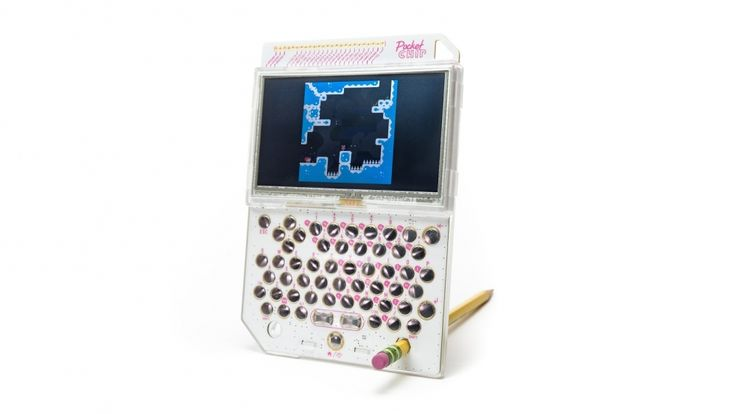 POCKET CHIP - MICRO COMPUTER TOUCHSCREEN LINUX RETRO GAME