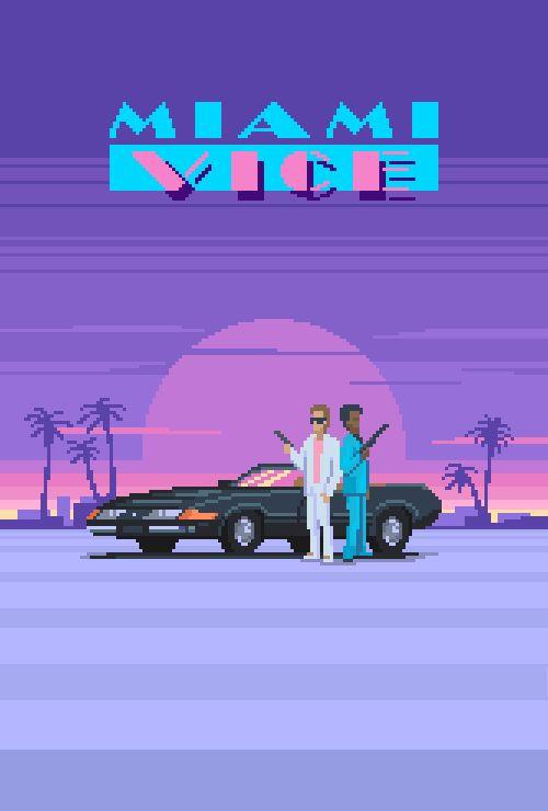 Miami Vice (1984)Shown at 300 percent.