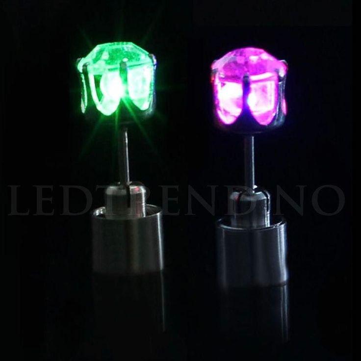 Øre-ringer med LED-lys til både fest og ja bare til fest  koster 99- i nettbutikken.  #ledtrend #tilfest #party #partypynt #pynt #damemote #tilbehør #ørepynt #øredobber #ledøredobber #mote #motetilbehør #smykke #smykker #tilhenne