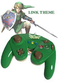Wii U Fight Pad Controller [Link Theme] (PDP) - Wii U / Wii