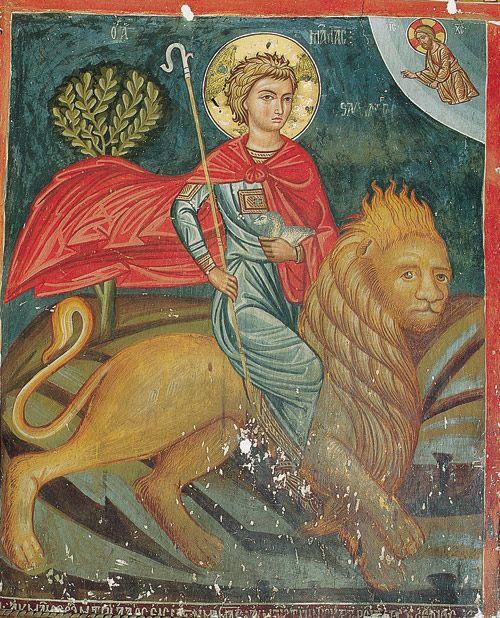 ΑΓΙΟΣ ΙΩΑΝΝΗΣ Ο ΘΕΟΛΟΓΟΣ ΚΑΒΑΛΑΣ: ὁ Ἅγιος Μάμας (2 Σεπτεμβρίου)