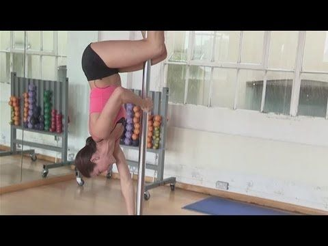 How To Do The Pole Dance Caterpillar Crawl - YouTube