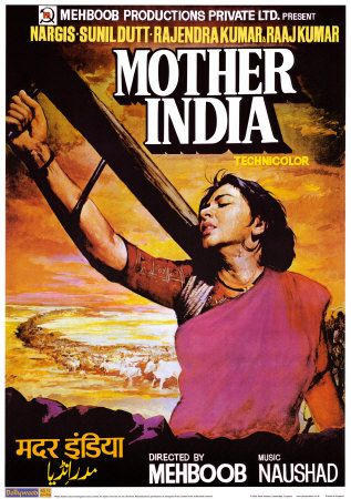 Mother India movie poster  http://www.stratfordeast.com/wah-wah-girls