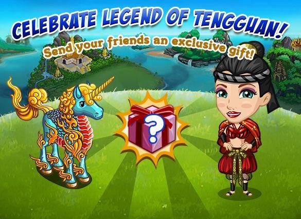 Legend of Tengguan: Neighbor Gifting #3 tempo stimato per la lettura di questo articolo 1 minuti  Siete vicini generosi? Generosi e provvisti di FV Cash ? Se la risposta è sì il nuovo Neighbor Gifing fa al caso vostro!Regalate ad un amico unMystic Thai Unicorn a 5 FVCASH.  Riceverete in cambio un Pyro Gold Pegasus  Possiamo scegliere traTUTTIi nostri contatti la persona o le persone a cui inviare il regalo.Utilizzando lafreccia lateralescorreremo le pagine fino ad esaurirelelenco completo…