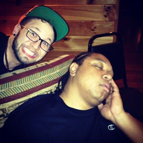 Andy and Tedashii xD  Andy Mineo is the greatest! :D  PERONSALITY