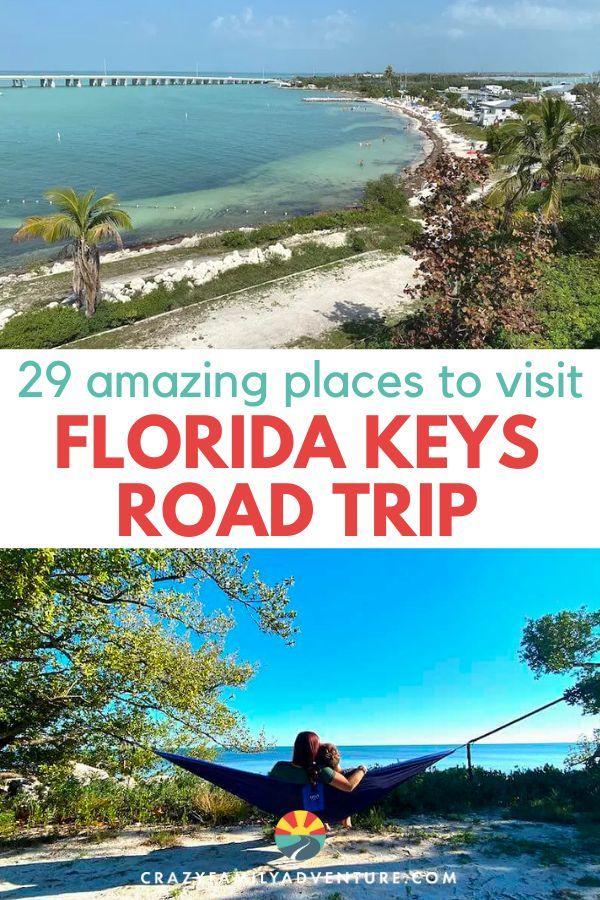 Florida Keys Road Trip 29 Amazing Places To Visit Map Included Florida Keys Road Trip Road Trip Florida Family Adventure Travel