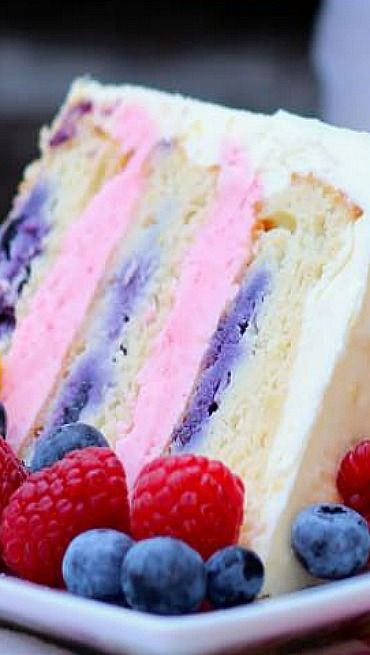 Lemon Berry Cake | Your Cup of Cake