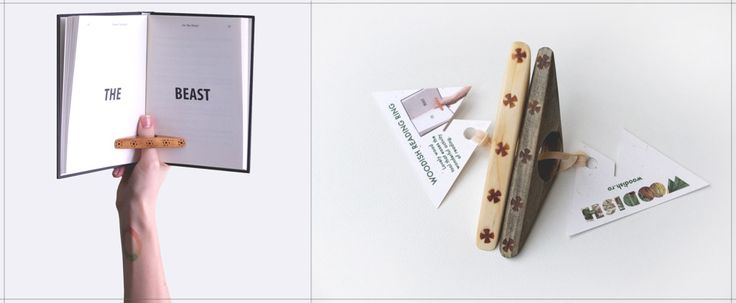 Bookmark by Woodish