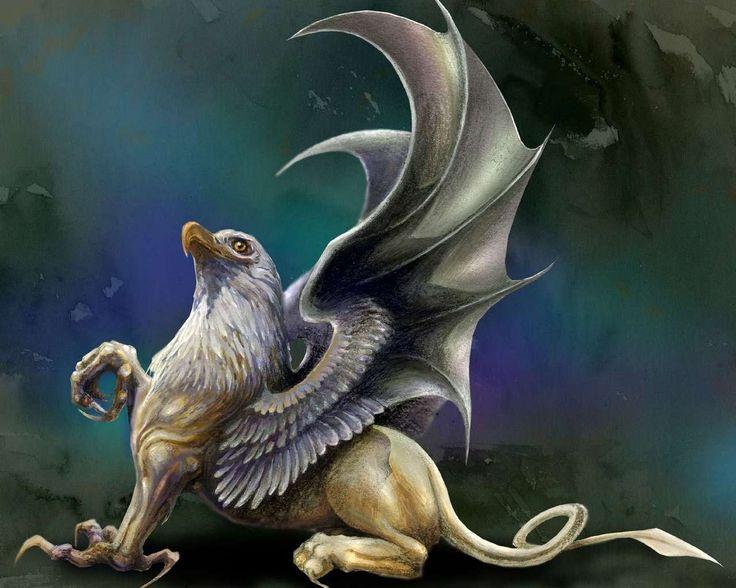 Грифон и дракон секс