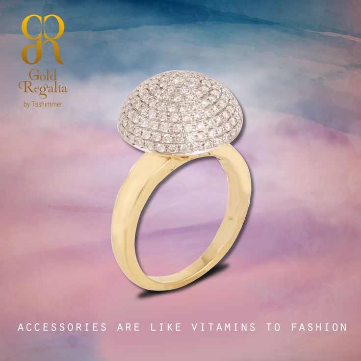 Accessories are like vitamins to #Fashion. : http://goo.gl/YoGNkO #Diamond #DiamondJewelry #DiamondRing #WomensJewelry