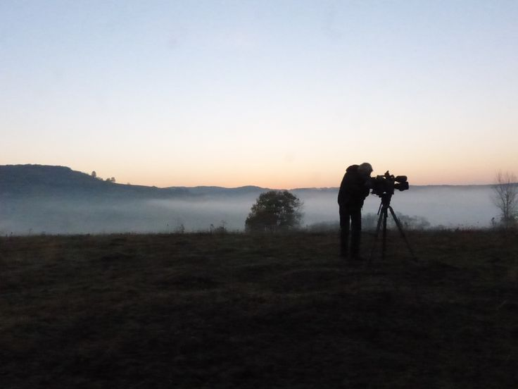 Early morning filming - from the filming of Wild Boar Fever 5
