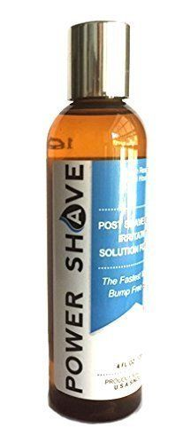 Power Shave Ingrown Hair Razor Bumps Treatment for Men Review