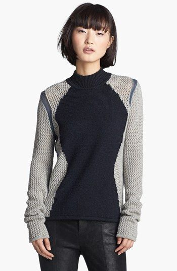 Helmut Lang Abstract Detail Sweater $335