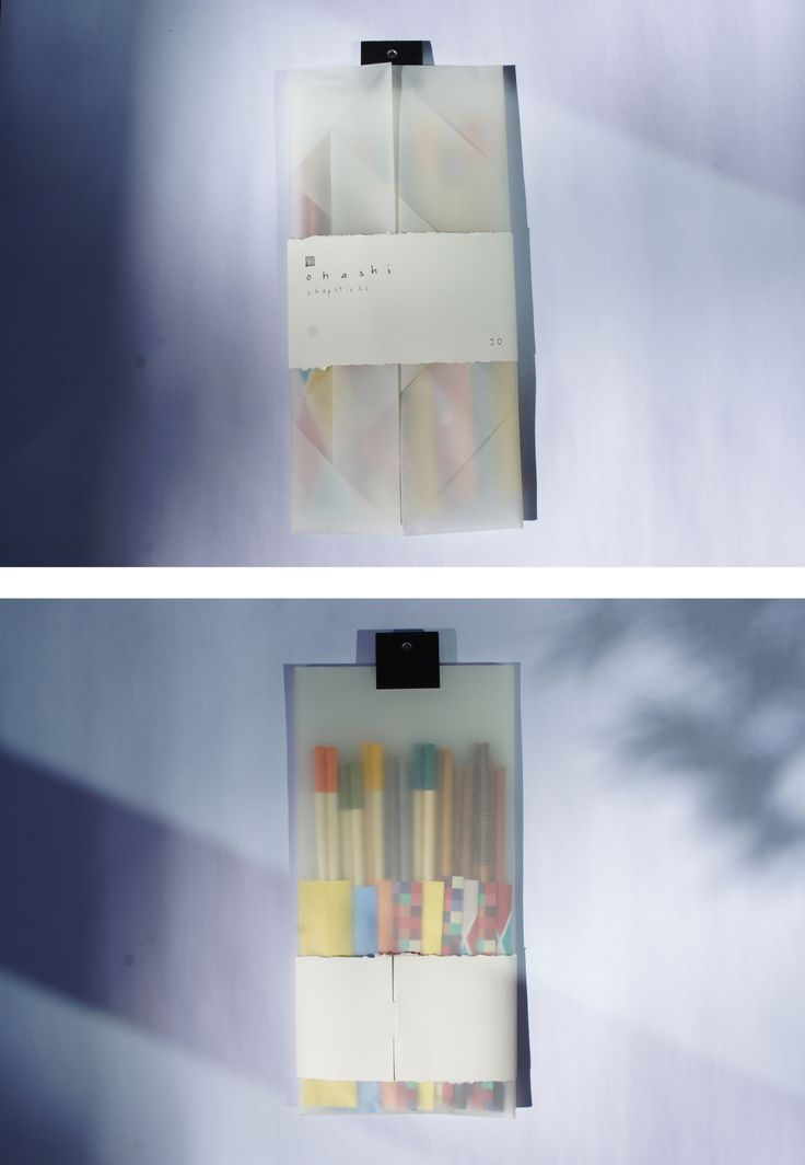 chopsticks packaging // sora graham