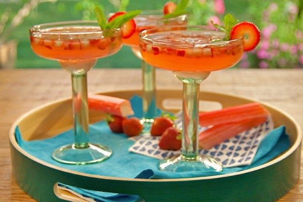 45 Fresh And Beautiful Rhubarb Recipes Food Network Recipes