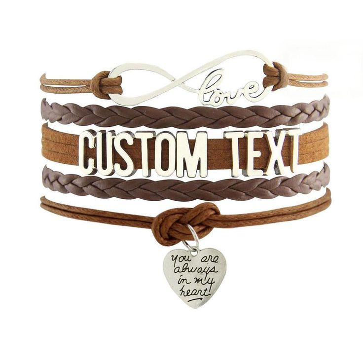 Infinity Love Customize Grandma Bracelet