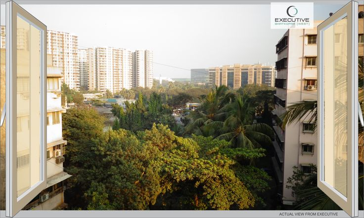 Sipping hot coffee under the blue sky and with evergreen environment within the city boundaries seems to naturally keel over #ViewFromMyWindow at #Executive by RJ Group & #JayceeHomes at #Ghatkopar-W.   #Executive #Ghatkopar #Coffee #ViewFromMyWindow #Thursday #Blue #Sky #View #FollowForFollow #Climate #Calm