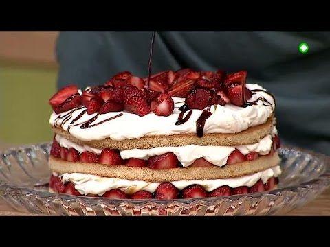ΚΑΝΤΟ ΟΠΩΣ Ο ΑΚΗΣ: Καλοκαιρινή ελαφριά τούρτα με φράουλες