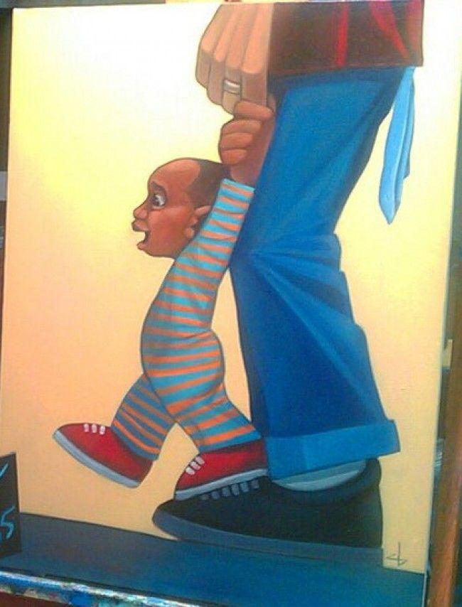 Walking Tall by Cbabi Bayoc
