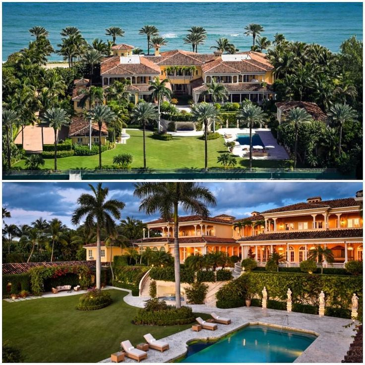 387 best mansionhome on instagram images on pinterest for Celebrity homes in florida