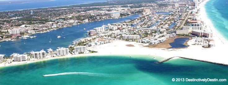 Aerial View Of Holiday Isle Destin Destin Florida