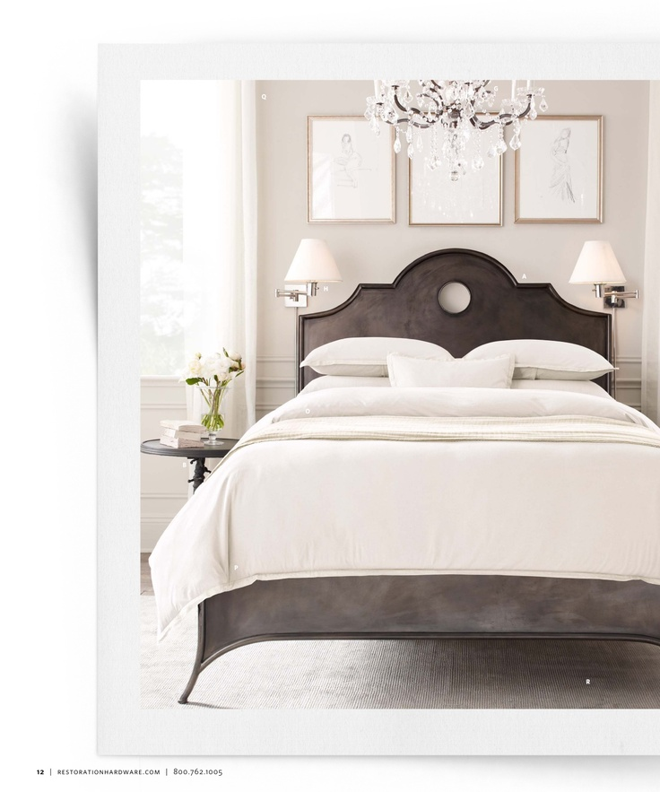 989 best bedroom style cure images on pinterest bedroom ideas room and master bedroom - Small spaces restoration hardware set ...