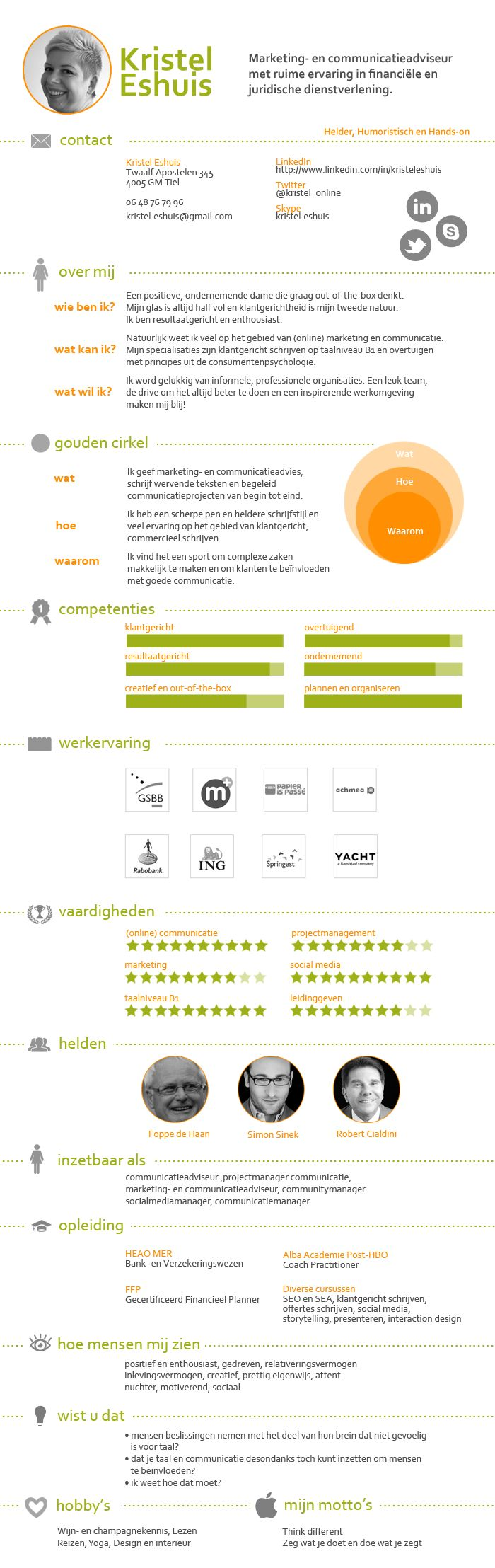 infographic, cv