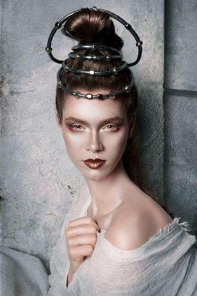 The #Mythical Land of Lost #Goddesses. #Makeup & #Hairstyling by Antigoni Livieratou