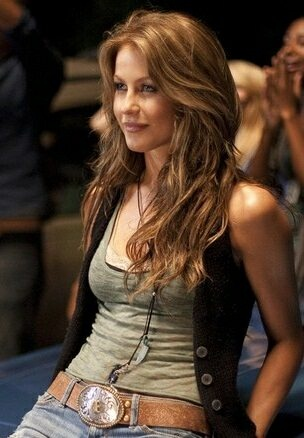 Medium/ long layers curled/wavy Julianne Hough from Footloose 2011