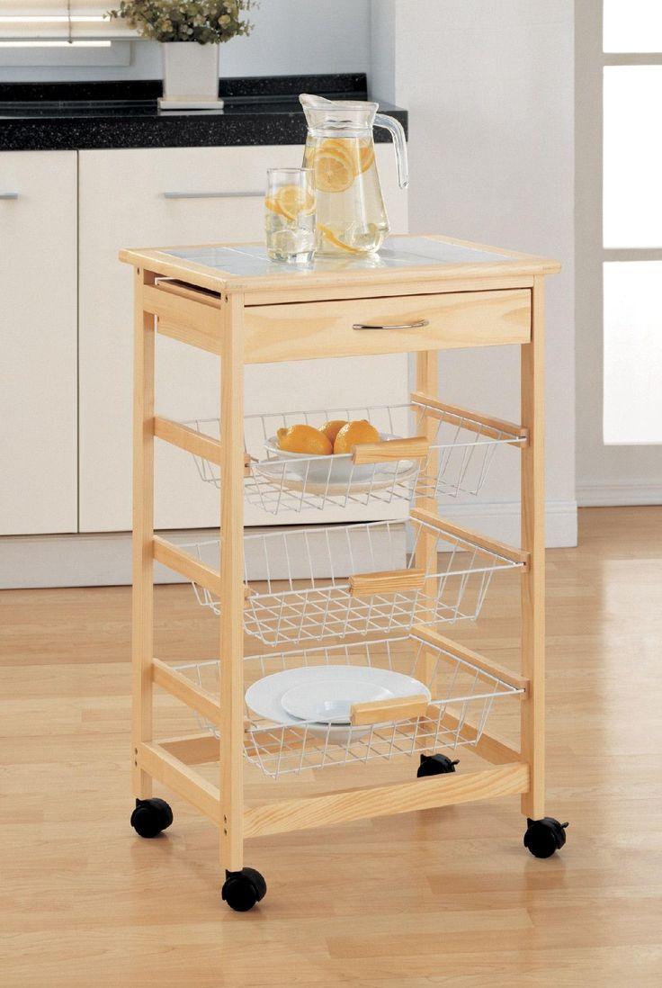 9 best kitchen carts images on Pinterest Kitchen carts Kitchen