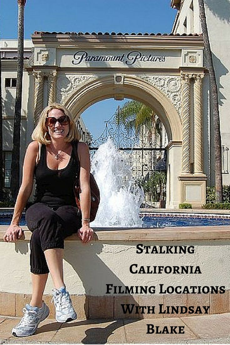 Lindsay Blake from I Am Not A Stalker. com Is California's resident guru for filming locations. Read about her here.