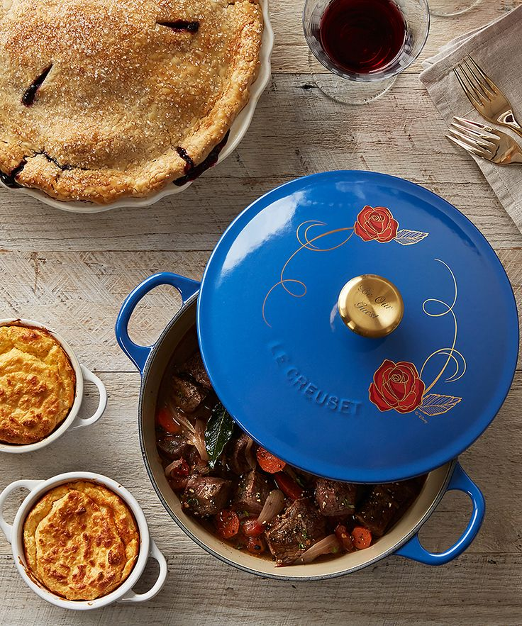Fairytale cookware has just come to Williams Sonoma with the introduction of this Le Creuset partnership.