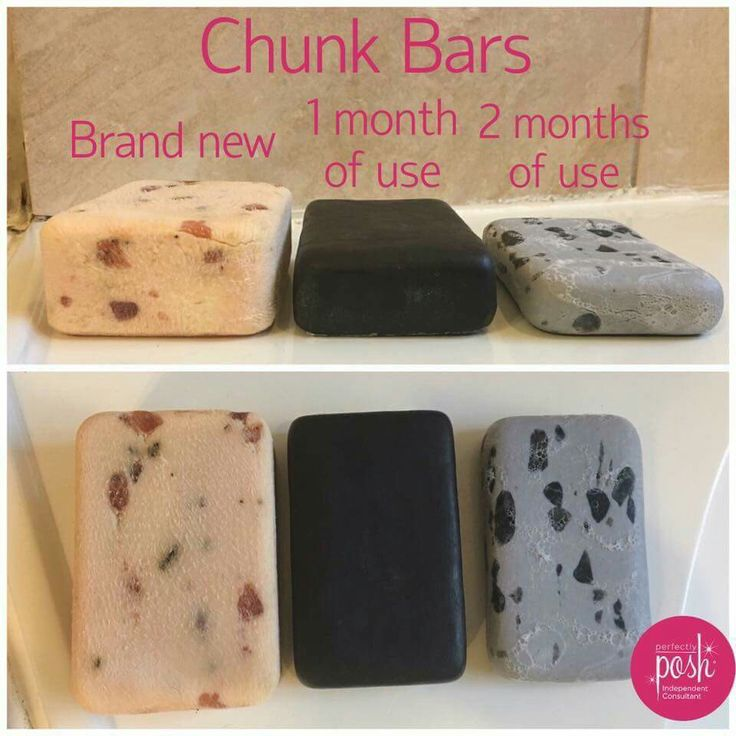 Chunk Bars from Perfectly Posh...not just any ole bar of soap. They LAST! See the current selection of Chunk bars at tamicole.po.sh.