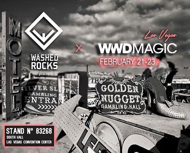 Washed Rocks will be present in the 2017 @wwdmagic Las Vegas tradeshow (February 21-23). We're so proud to be there! Come see us and our new collection!  #wwdmagic #wwdmagiclasvegas #lasvegas #washedrocks #wrocksfootwear #tradeshow #fashion #instafashion #picoftheday #photooftheday