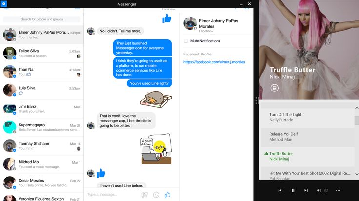 Watch this developer build a Facebook Messenger app for Windows in ...
