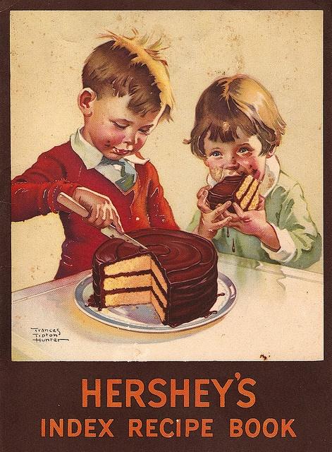 Vintage Hershey's Recipe Book