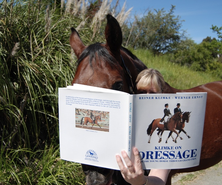 Ah now I know where I've been going wrong, horsie needs to read the book too