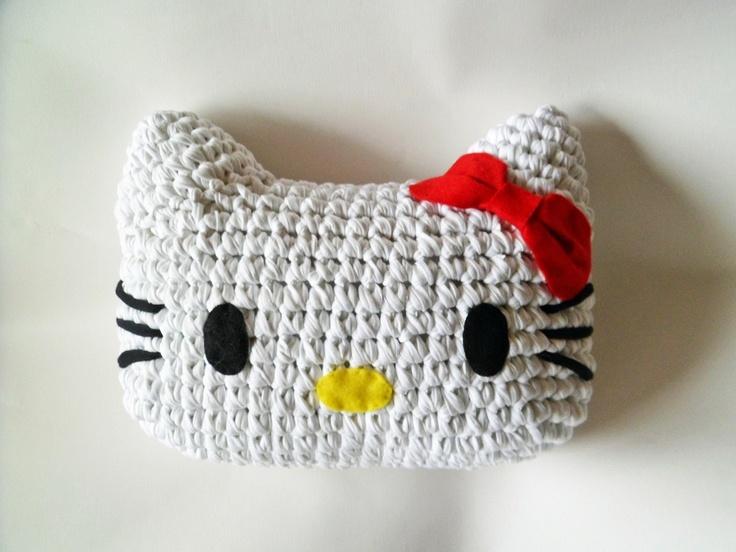 Cojín de trapillo hello kitty