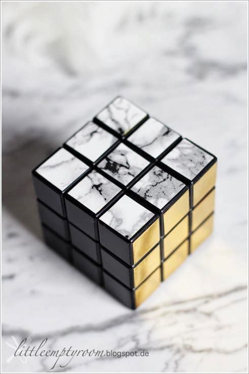 An idea for my old Rubics Cube that someone changed the stickers on!