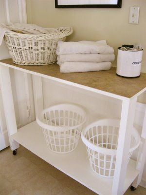 Organizing A Laundry Room. Laundry Room Folding TableLaundry TableDiy  Clothes ...