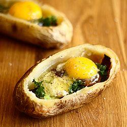 Baked Potato Breakfast Bowls by culinaryadventuresinthekitchen #Breakfast #Potato_Bowls #culinaryadventuresinthekitchen