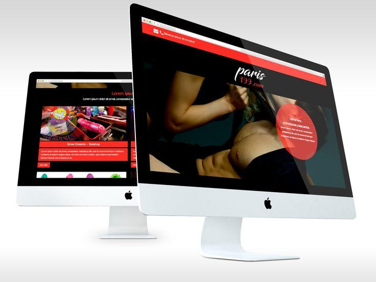Web Paris199.com - entra y descubre un mundo nuevo #web #webdesign #sexo #barcelona #laende