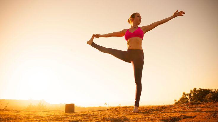 I'm not flexible enough to do yoga - Grace & Aibell