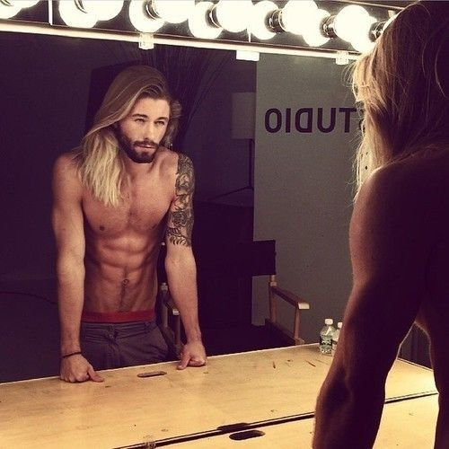 Guyswithlonghair Hotties With Long Hair