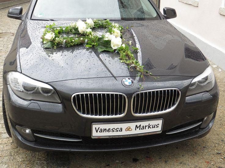 Brautauto - Hochzeitsdeko Auto